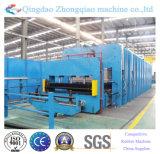 Maquinaria de vulcanización del caucho de la máquina de la banda transportadora de la base de la materia textil