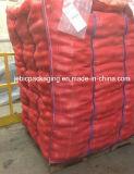 Красный мешок большого части картошки сетки