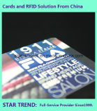 Constructeur en plastique de carte/carte du cadeau Card/VIP