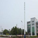 Galvanisierter einzelner Pole-Telekommunikations-Stahlaufsatz