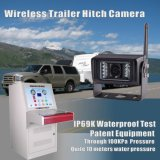 O rádio dos caminhões de lixo recebe a câmera infravermelha do sistema 18