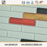 ブラウンは壁および床の装飾のためのガラスモザイク・タイルを混合した