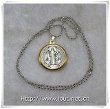 Collana religiosa, punti religiosi, collana religiosa di stile dei monili Chain Pendant (IO-aj354)