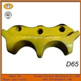 Le pignon de train d'atterrissage du bouteur D65 (D85 D155) de KOMATSU Shantui segmente les pièces de rechange