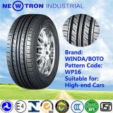 Neumático del pasajero de la polimerización en cadena Tiretubeless para el coche medio y de gama alta 225/60r17