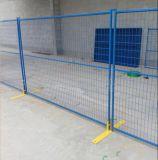 Polvere che ricopre recinzione provvisoria/rete fissa della costruzione saldata Canada