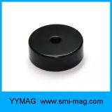 Magneet van de Cirkel van de Ring van de Deklaag van het neodymium de Zwarte Epoxy