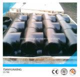 バット溶接DIN継ぎ目が無い炭素鋼の管付属品
