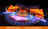 Tela de indicador video do diodo emissor de luz do evento do fundo de estágio/sinal/Panle/parede/quadro de avisos Rental ao ar livre internos