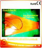 Calefator da almofada de aquecimento de Felxible do silicone/da borracha silicone da esteira