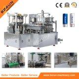 Máquina de enlatado de bebidas carbonatadas para latas de aluminio