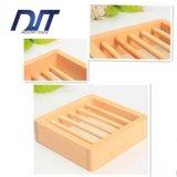 Fabrik-direktes Badezimmer-Bambusseifen-Teller mit kundenspezifischem Firmenzeichen