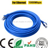 RoHS 1000Mbps Cable del LAN de la red de Cat5e STP para Ethernet (SY118)