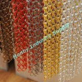 Customized Ready Made Wall Covering Design Aluminum Chain Curtain