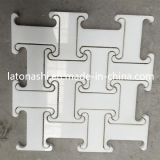 ODM Design White Marble Mosaic Wall Tile für Interior Decoration
