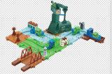 Giocattolo impostato treni dei blocchi con migliore materiale