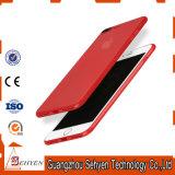 더하기 iPhone 7을%s 중국 빨간 Ultrathin 단단한 상자