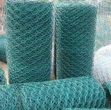 Engranzamento de fio líquido revestido do PVC Gabions