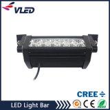 36W 2880lm de fila doble barra de luz LED de inundación del punto camiones ligeros