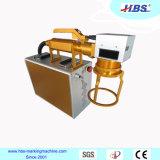 Machine tenue dans la main d'inscription de laser de fibre avec le service après-vente d'outre-mer