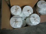 Bande blanche de bonne qualité de fibre de verre de Support-Alcali d'isolation