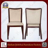 Стул столовой хорошего качества мебели Jinbihui алюминиевой обитый тканью (BH-FM8014)
