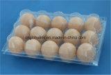 Bandeja plástica de empaquetado del huevo del animal doméstico de los embaladores de los orificios de la bandeja 6/10/12/15/30 del huevo plástico para la venta
