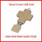 Aandrijving van de Flits USB van Jesus de Cross USB Pendrive van de Schijf USB Houten