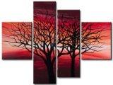 Combinación de paisaje abstracto