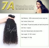 Glänzende und seidige natürliche schwarze Jungfrau-menschliches brasilianisches Haar