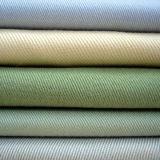 Cotone grigio e pianura del tessuto della tintura o tessile della saia per il vestito Labour