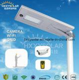 fabbrica esterna tutta dell'indicatore luminoso del giardino di 80W LED in un'indicatore luminoso o lampada di via solare