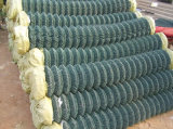 Загородка звена цепи с гальванизировано или PVC покрыно