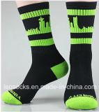 Massenkundenspezifischer Großhandelsmann Sports Baumwollsocken-Hersteller