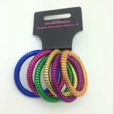 Cabo de telefone colorido Hairbands do Glitter