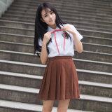 女の子の日本様式の学生服