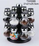 Bouteille en verre de mémoire de condiment