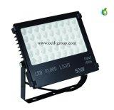 Nuova inondazione dell'indicatore luminoso di disegno LED con 3 anni della garanzia IP65 10W 20W 30W 50W 100W LED di inondazione dell'indicatore luminoso da 50 watt LED di indicatore luminoso di inondazione esterno