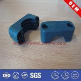 Encaixe plástico preto do grampo de ABS/PP/PE/POM/PA para a câmara de ar e a tubulação (SWCPU-P-F269)