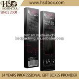 Casella di carta di estensione su ordinazione dei capelli di alta qualità