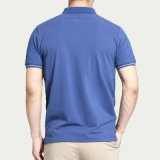 T-shirts ordinaires faits sur commande de polo de Mens d'impression en vrac à vendre