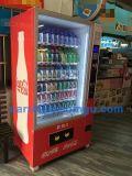 大きい容量の硬貨のアクセプターが付いている缶及び飲料のための自動販売機