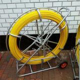 Непрерывный трассируя трубопровод Rodder, кабельный канал Rodder оптического волокна