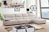 Sofa-Möbel-Set, reales ledernes Sofa, L Form-Leder-Sofa (650)