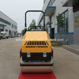 hydraulische Doppelt-Trommel-Miniasphalt-Rolle der Schwingung-1.8ton für Verkauf