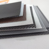 Acoplamiento de alambre revestido de acero inoxidable del PVC de 201 materiales