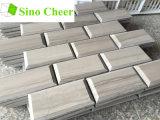 Плитка мозаики кирпича серая деревянная мраморный