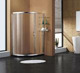 Pièce jointe simple de douche de salle de bains écran de douche en verre de 6/8/10 millimètre