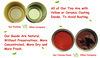 inserimento di pomodoro inscatolato marca di 850g Gino dell'alta qualità