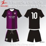 Algum futebol uniforme personalizado Sublimation Jersey do logotipo